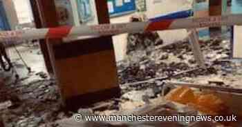 Trafford General re-opens as new images show aftermath of lightning strike