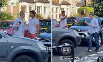 Driver confronts another with an axe during an argument in the middle of a west London road