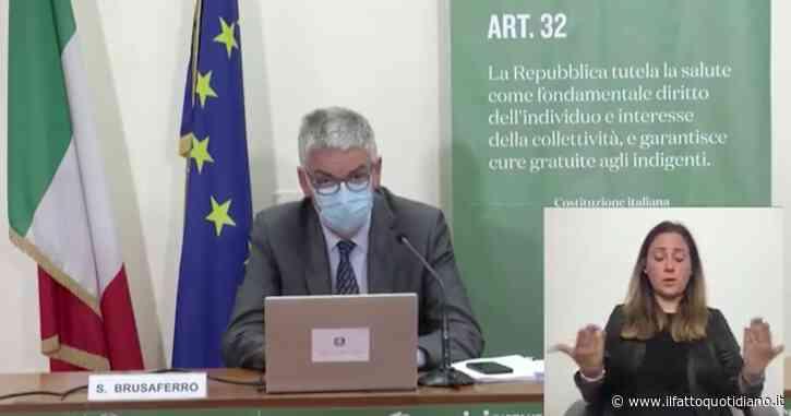 """Covid, Brusaferro: """"Età mediana dei contagiati scende a 27 anni, 49 anni quella dei ricoverati in ospedale"""""""