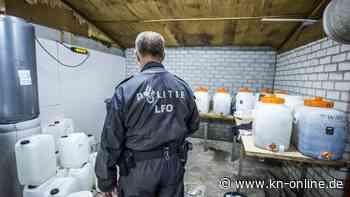 Riesiges Crystal-Meth-Labor in den Niederlanden entdeckt