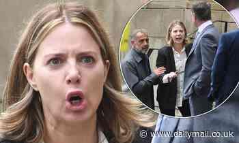 Coronation Street SPOILER: Sally Carman tries to keep dry in puffer jacket amid murder trial scenes