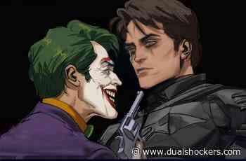 Fan Art Shows Robert Pattinson's Batman with Willem Dafoe as Joker - DualShockers