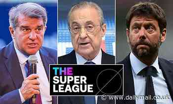 Barcelona, Juventus and Real Madrid vow to continue European Super League plans after court ruling