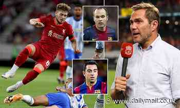 Liverpool's Harvey Elliott compared to Barcelona's Xavi and Andres Iniesta by ex-Red Jason McAteer