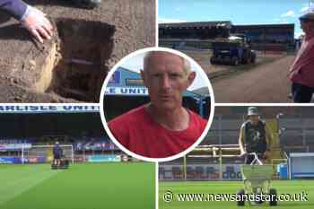 New club video gives fascinating insight into Carlisle United's pristine pitch - News & Star