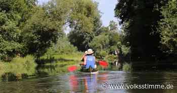 Mit dem Kanu auf der Bode im Salzland unterwegs - Volksstimme