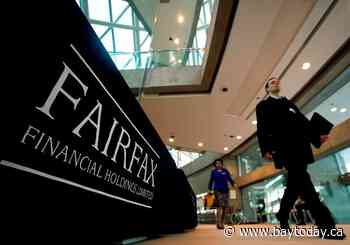 Lower COVID-19 losses helps to boost Fairfax Financial's second-quarter profits