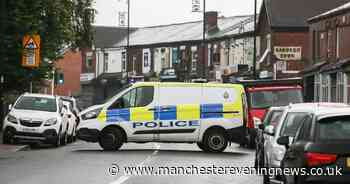 Road shut as man found in middle of street with serious head injuries