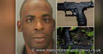 Gangster's lies caught out after he's found in backstreets with loaded gun