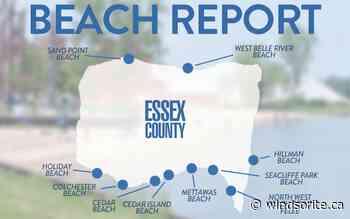 Long Weekend Beach Report: One Beach Closed   windsoriteDOTca News - windsor ontario's neighbourhood newspaper windsoriteDOTca News - windsoriteDOTca News