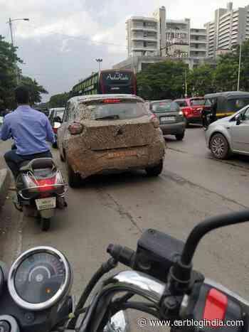 Tata HBX (Maruti Ignis-rival) Spied Testing Yet Again! - Car Blog India