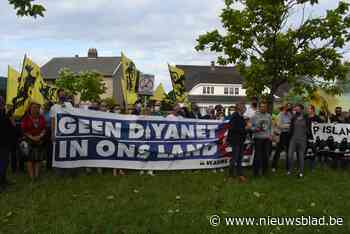 Vlaams Belang betoogt tegen Ayasofya-moskee