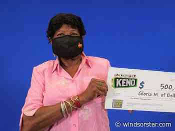 Belle River woman's Daily Keno picks earn her $500,000
