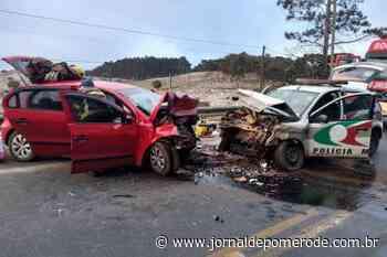 Por conta de gelo sobre a pista, PM morre em acidente de trânsito - Jornal de Pomerode