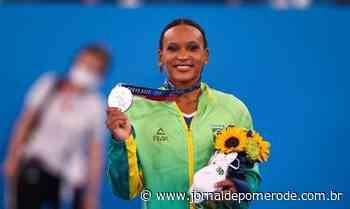 Rebeca Andrade fatura prata, 1ª medalha na ginástica feminina do país - Jornal de Pomerode