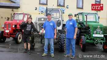 Erster Treff der Traktorenfreunde in Braunsdorf - Ostthüringer Zeitung