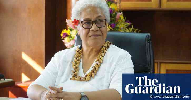 'Women have not been able hold these: Samoa's first female PM gets down to the job