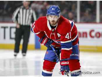 Canadiens' Paul Byron out for five months after hip surgery