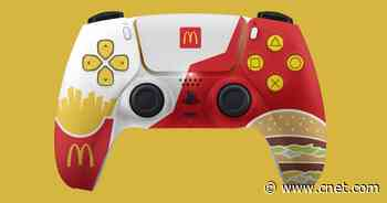 McDonald's made a shockingly attractive PS5 controller, apparently     - CNET