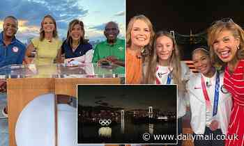 NBC Today anchors share what it's like to cover Olympic game in locked-down Tokyo