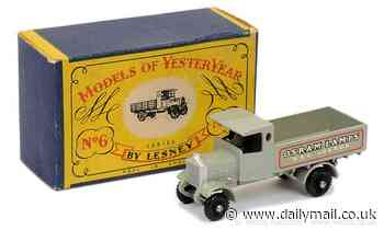 Rare two-shilling Matchbox toy replica of 1916 Osram Lamps lorry sells for £5,520