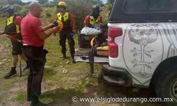 Mantienen búsqueda de jinete en Río Chico - El Siglo Durango