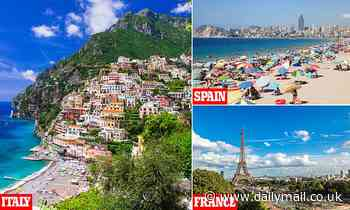 Summer holidays at risk as ministers threaten to put Spain, France and Italy on a new danger list