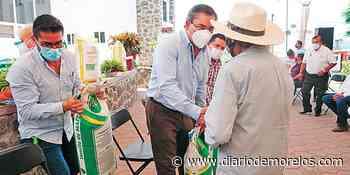 Brinda Jiutepec apoyo al agricultor - Diario de Morelos