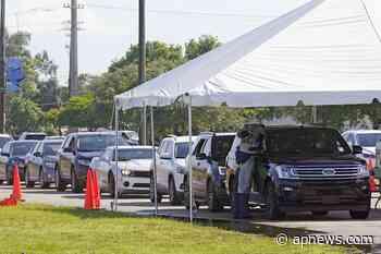 Florida coronavirus cases jump 50% as surge continues - Associated Press