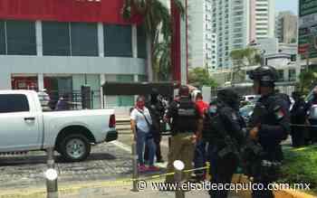 Asaltan banco en plena zona turística del puerto - El Sol de Acapulco