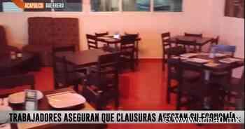 Clausuras a locales por cambio de semáforo golpea economía de Acapulco - ADN 40