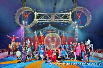 Circus Mondao returns to Bolton after using food banks to survive Covid - This Is Lancashire