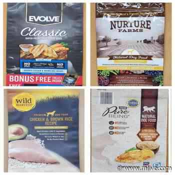 8 types of dog food recalled because of mold toxins that can make pets sick - mlive.com