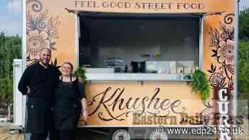 Khushee Street Food van a hit across Norfolk - Eastern Daily Press