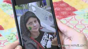 """""""I have to keep faith and hope:"""" 16-year-old battling cancer for a third time - 47abc - WMDT"""