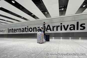 British Canadians frustrated by exclusion from U.K.'s new quarantine exemptions - Hope Standard