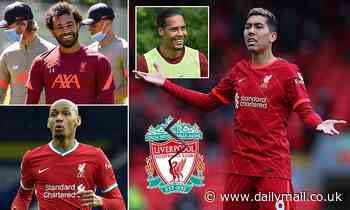 Liverpool 'line up new deals for SIX Anfield stars after Trent Alexander-Arnold pens fresh terms'