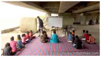 Ahmedabad NGO runs informal classrooms to impart basic education to poor kids