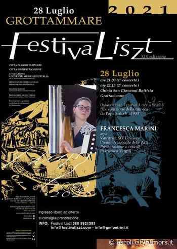 Francesca Marini al Festiva Liszt - Ultime Notizie Ascoli Piceno e Provincia Ascoli News - Cityrumors Ascoli