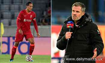 Jamie Carragher urges Liverpool not to rush star defender Virgil van Dijk back into action