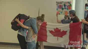Calgary Canoeist Haley Daniels returns home after Olympic milestone