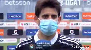 """Omar Merlo sobre el empate ante Municipal: """"Es un punto que al final nos servirá"""" - Libero.pe"""