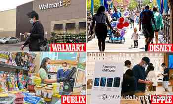 Walmart orders staff in Delta hotspots to wear masks while Disney to require staff to get vaccinated