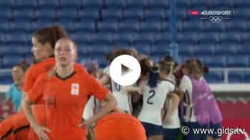 Flink balen: Oranjeleeuwinnen uitgeschakeld na penaltyreeks (video) - Gids.tv