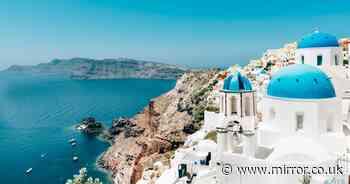 Greek islands including Brit hotspot Santorini moved to EU's 'dark red' list