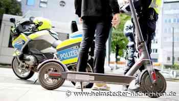 Polizei Wolfsburg: Verstöße mit E-Rollern häufen sich - Helmstedter Nachrichten