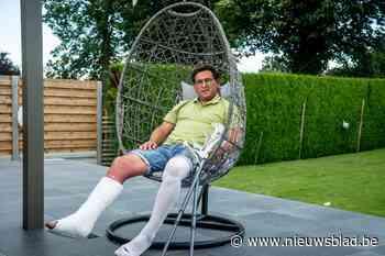 Burgemeester Borremans scheurt achillespees tijdens potje tennis