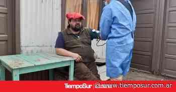 Testeos a pobladores rurales en El Calafate - TiempoSur Diario Digital