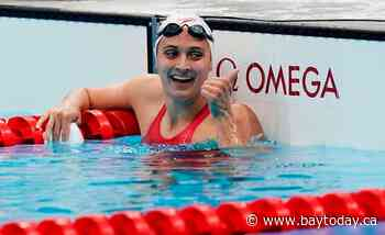 Canadian Kylie Masse wins second silver medal of Tokyo Games in 200-metre backstroke