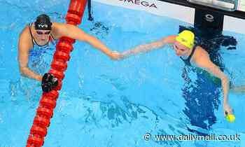 Favourite Katie Ledecky wins gold over Australia's superstar Ariarne TitmusToyko Olympic Games